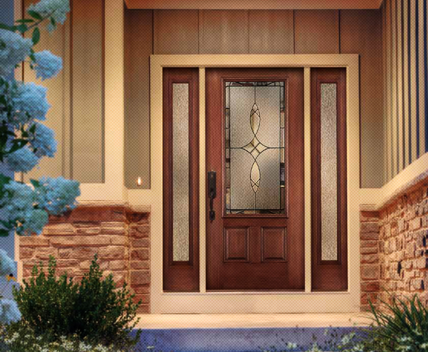 Thermatru doors therma tru pulse series entry doors all for Exterior entry doors
