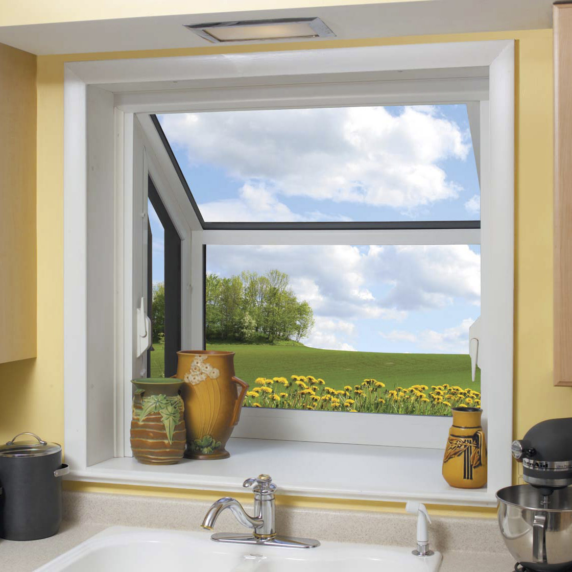 Mainely vinyl garden windows roof windows for Garden window