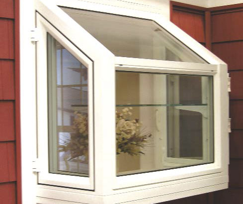 Vinyl windows vinyl garden windows for Garden window